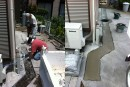 井戸水から市水へ切替工事