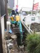 下水道切替工事