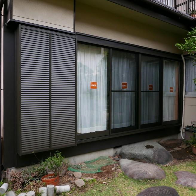 川村邸サッシ